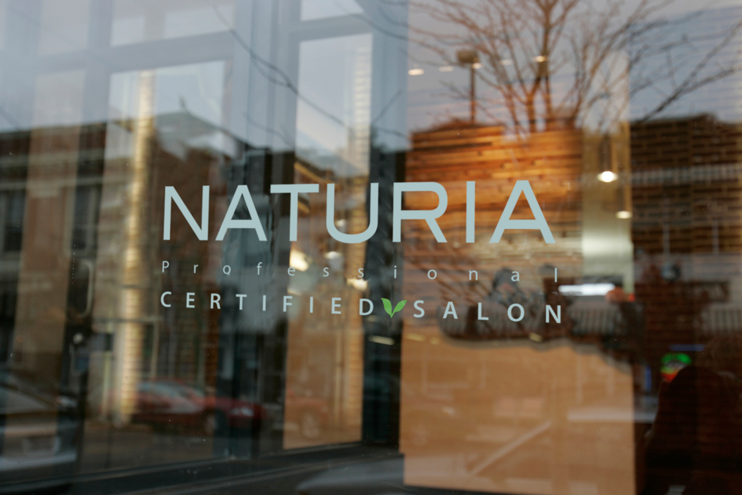 Salon window certification